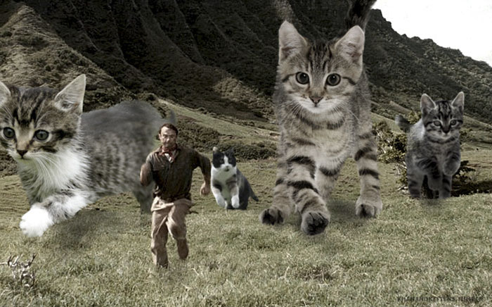purasic park5 - Ketika Kucing Menggantikan Dinosaurus di Jurassic Park
