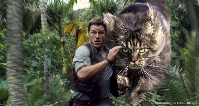 purrasic park2 - Ketika Kucing Menggantikan Dinosaurus di Jurassic Park