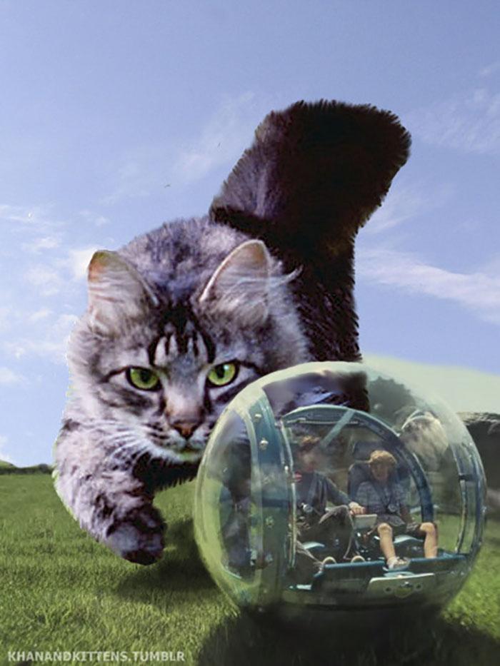 purrasic8 - Ketika Kucing Menggantikan Dinosaurus di Jurassic Park