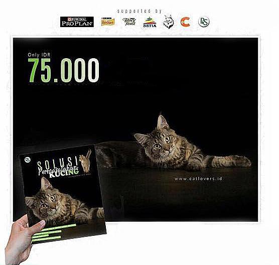 """Buku solusi permasalahan kucing 2 - """"Solusi Permasalahan Kucing"""", Buku tentang Kucing yang Kamu Wajib Miliki"""