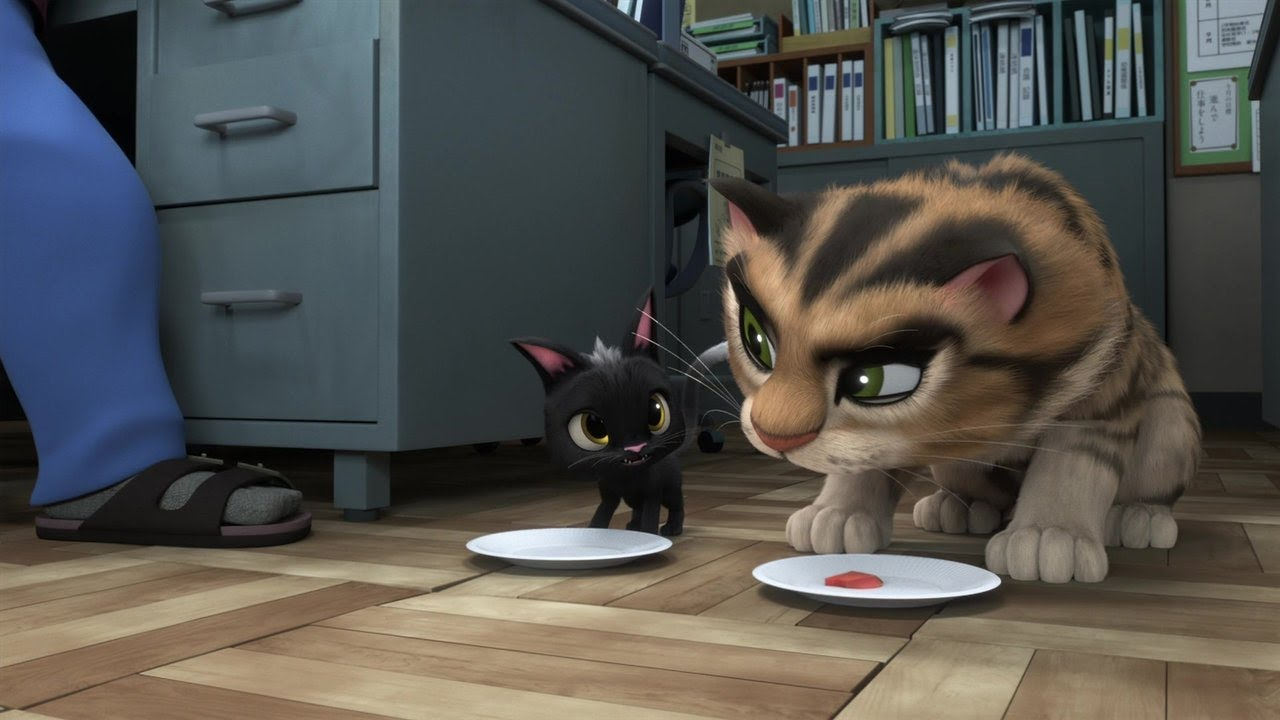 rudolf2 - Review Film Animasi Jepang : Rudolf The Black Cat