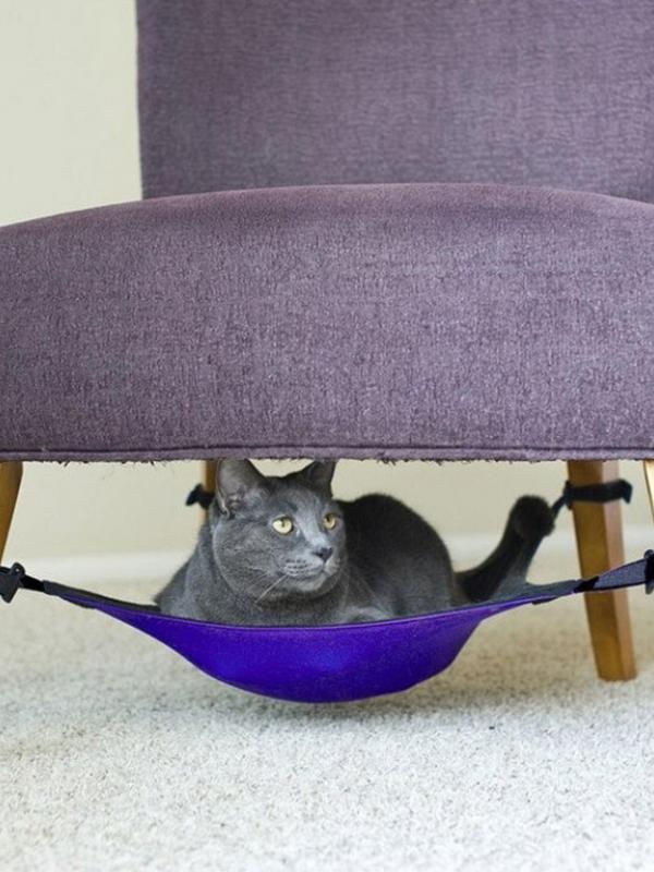 tempat tidur kucing5 - 7 Desain Tempat Tidur Kucing Unik yang Bisa Kamu Buat Sendiri
