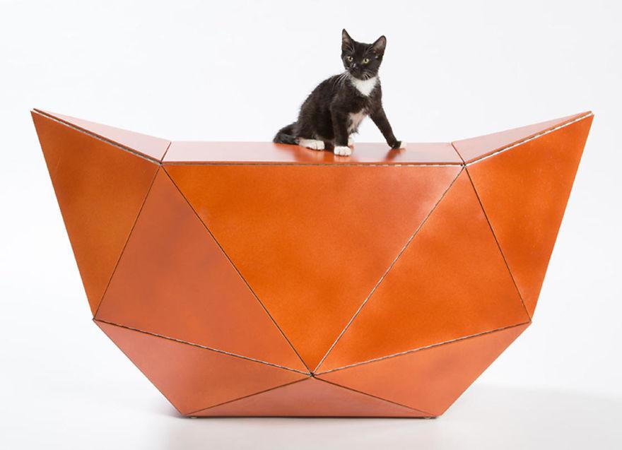 tempat bermain kucing11 - 11 Tempat Bermain Kucing ini Keren Abis !