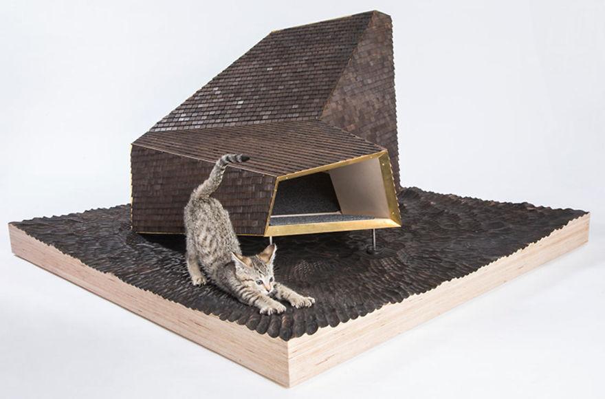 tempat bermain kucing2 - 11 Tempat Bermain Kucing ini Keren Abis !